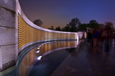 Shining Stars in World War II Memorial