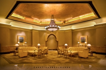The lobby at Emirates Palace
