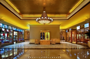 The shopping mall at Emirates Palace