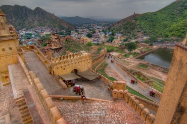 View of City from Amer fort